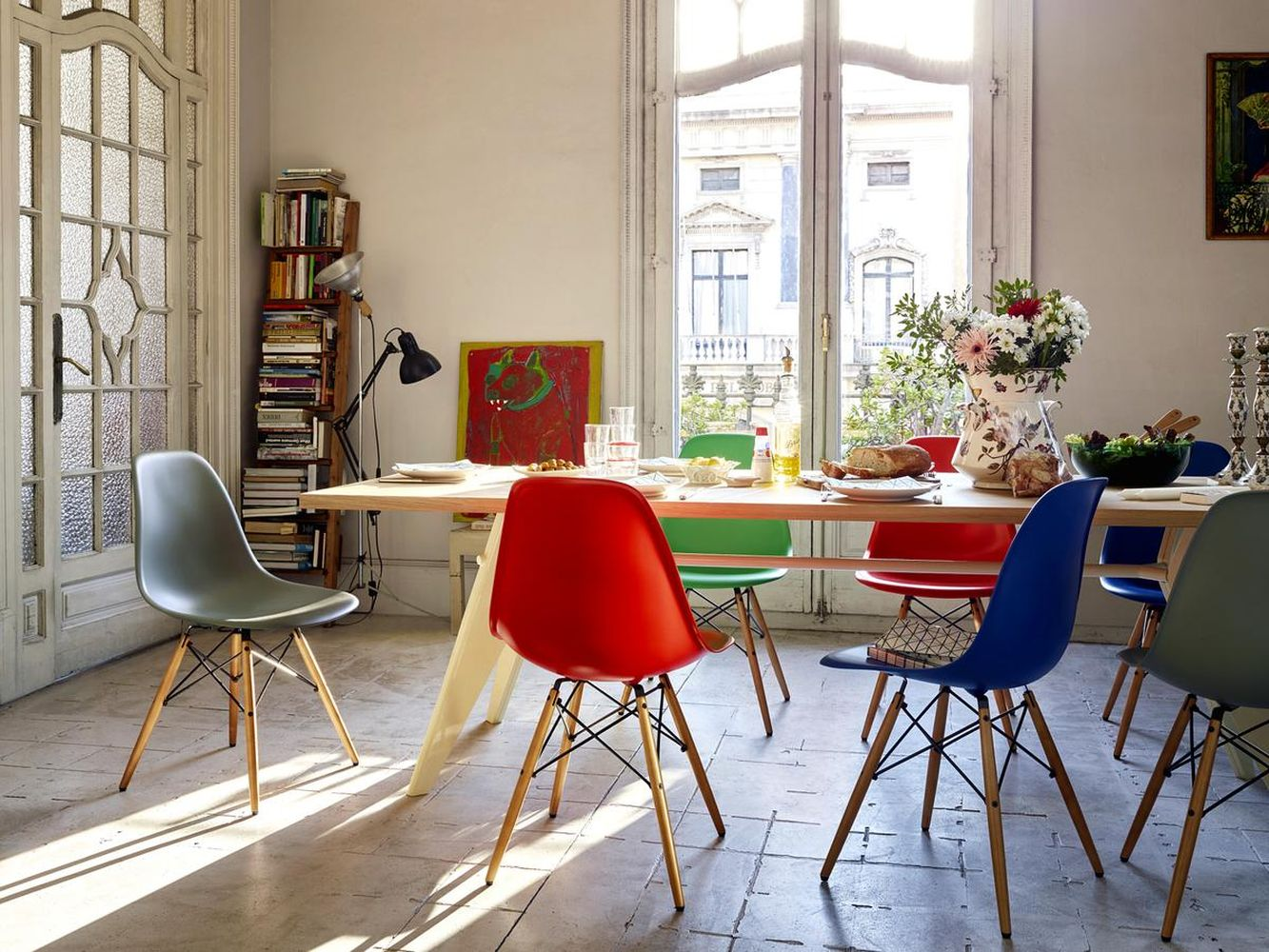 Fitted dining room chair